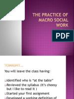 sw 631 the practice of macro social work
