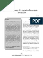A Alalc Como Auge da Integração Sul-americana no Século XX