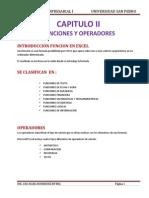 Capitulo 2 Introduccion de Funciones y Operadores