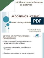 Aula 5 - Exercicios de Portugol sequencial com o compilador visualg.pptx