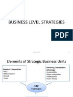 Business Level Strategy KS