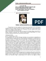 S. S. Pío XI REGLA DE LA TERCERA ORDEN REGULAR DE SAN FRANCISCO DE ASÍS Constitución Apostólica «Rerum conditio»