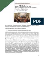 S. S. Pío XI SOBRE SAN FRANCISCO DE ASÍS AL CUMPLIRSE EL VII CENTENARIO DE SU MUERTE Encíclica «Rite expiatis»