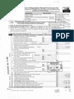 Tsunami Relief Inc. 2006 IRS Form