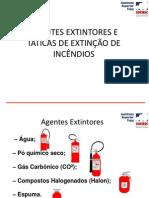 Agentes Extintores e Táticas de Combate a Incêndio