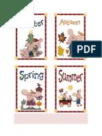 Pictionary - Seasons