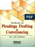 Pleadings, Drafting & Conveyancing