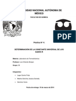 DETERMINACIÓN DE LA CONSTANTE UNIVERSAL DE LOS GASES final