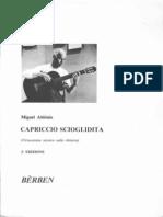ABLONIZ Miguel - Capriccio Scioglidita.