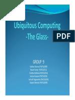 A9 Ubiquitous Computing