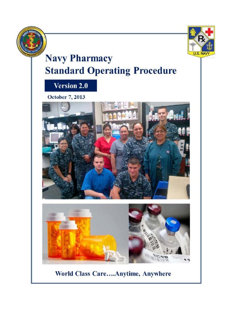 Pharmacy Sop Pharmacy