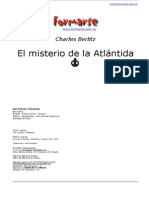 Berlitz Charles - El Misterio de La Atlantida