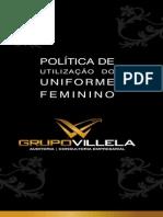 Politica de Ultilizacao Do Uniforme Feminino Grupovillela