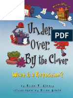 Under, Over, By the Clover- What is a Preposition