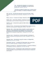 Glossário Toponímico da Expansão Ultramarina
