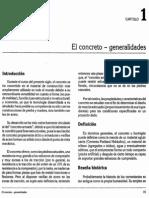 Cap. 1 (El Concreto - Generalidades)