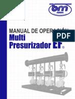Manual Multi Presurizador EF