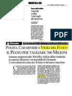 16.03.2014 Corriere Tagli