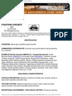 Podiform Chromite - Mineral Deposit Profiles, B.C. Geological Survey