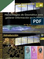 Herramientas de Geomatica Para Generar Informacion en La ZEE y Ot