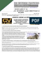 016 Un Estudio Sobre Las Sectas (Cristo Viene La Red)