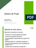 CM Gestion de Projet GL