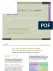 Big Think - How to Build a Successful Business