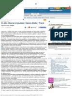 El Alto Tribunal Enjaulado_ Casos Bildu y Parot - Faro de Vigo