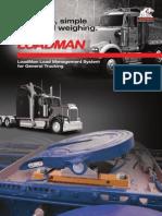 LoadMan On-Board Scales General Trucking Brochure