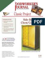 WJC131 Side by Side Chest Cupboard