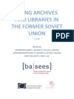 Using Archives and Libraries in the Former Soviet Union v2