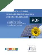 Riegos Laborales en Las Actividades Relacionadas Con Las Energias Renovables