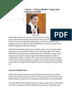 Biografi Dahlan Iskan