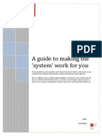 a guide to making the system work for you