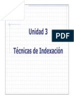 3 - Tecnicas de Indexacion