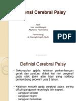 Responsi Cerebral Palsy