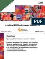 Installing IBM Tivoli Storage Manager 5.3
