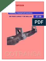 Et09 Cotransa Catalogo Cadenas Transportadoras
