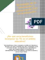 Tecnologías de la información y comunicación (tic)