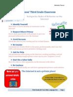 educ 170-netiquette poster