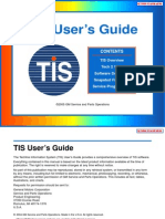 Scanner GM Tech2 TIS UserGuide