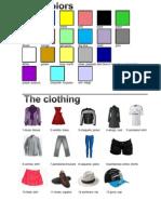 Colores, Rospa, Cuerpo, Clima y Estaciones en Ingles