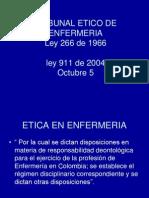 Etica en Enfermeria Ucia