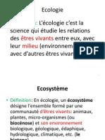 Ecologie [Enregistrement Automatique]