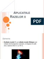 Aplicatii ale razelor X