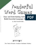 50 Wonderful Word Games