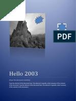 Hello 2003