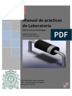 Manual de Prácticas de Laboratorio-Electronica I- UdeA 2013-1