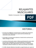 RELAJANTES MUSCULARES RACHS
