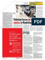 thesun 2009-10-19 page06 pakistani forces in heavy clashes in waziristan